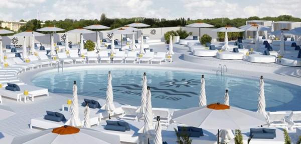 На крыше «Ocean Plaza» откроют пляжный клуб «City Beach Club»