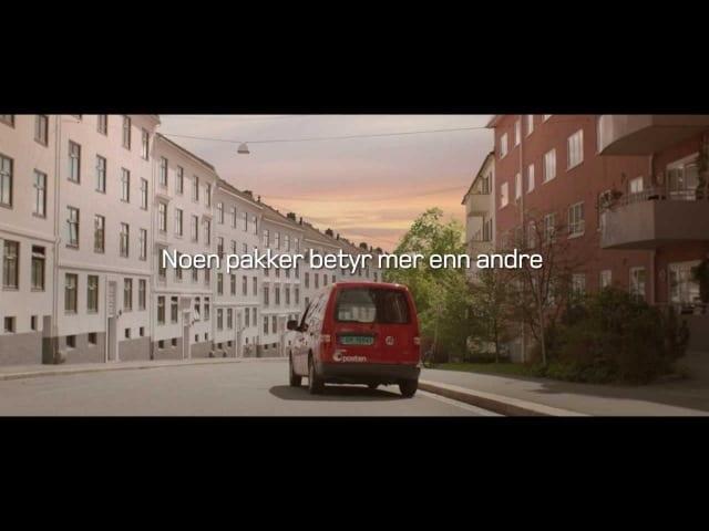 Очень трогательная реклама норвежской почты