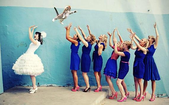 Свадебное бросание кошек