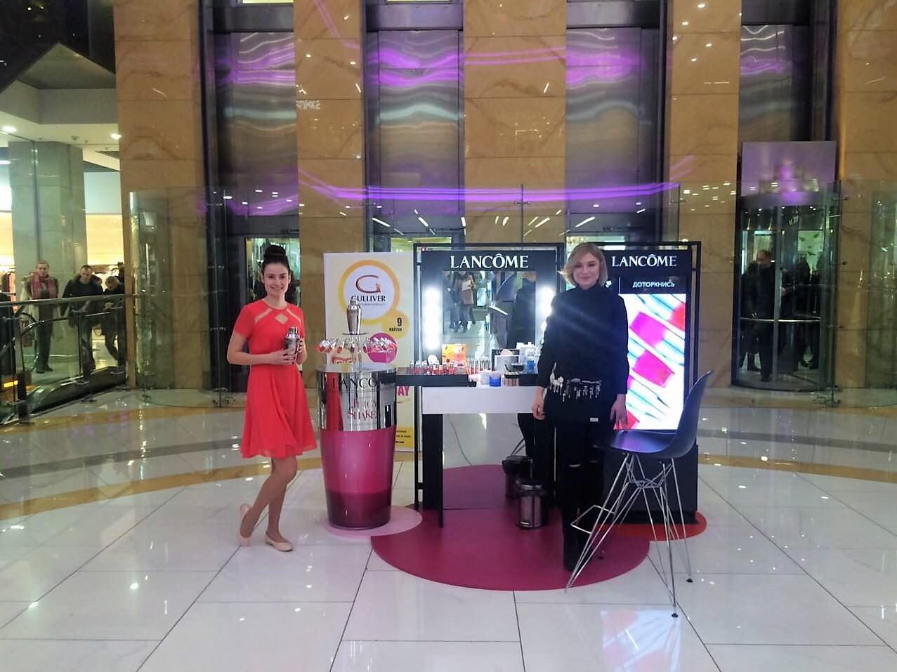 Презентация нового продукта от Lancôme – кушн для губ Juicy Shaker