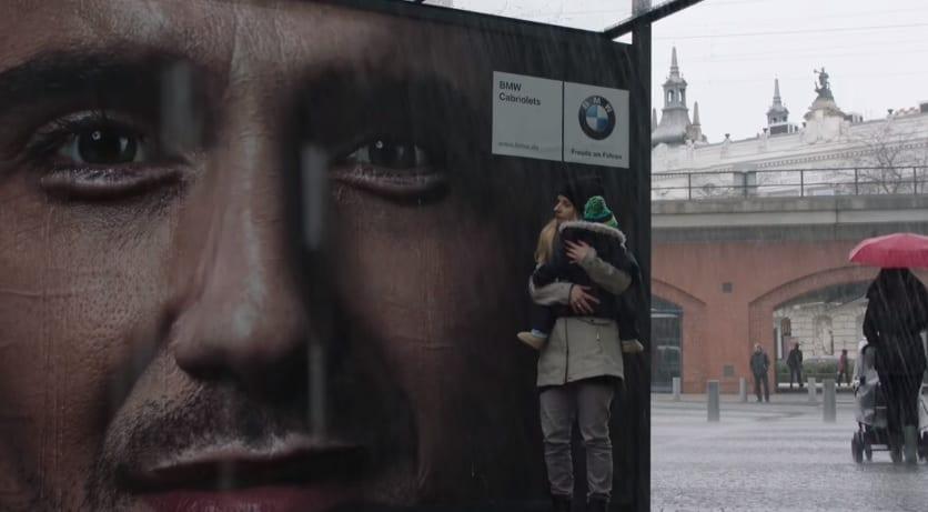 BMW Crying Billboard Great Ads
