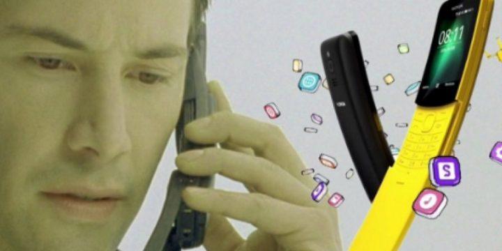 Nokia вернула к жизни телефон-банан из «Матрицы»
