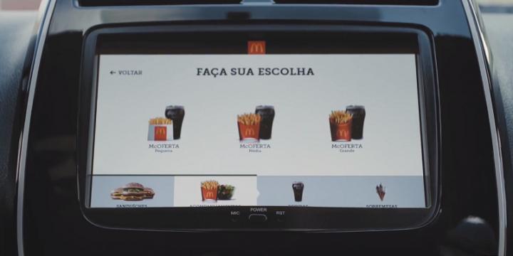 Renault и McDonald's разработали технологию быстрого заказа еды