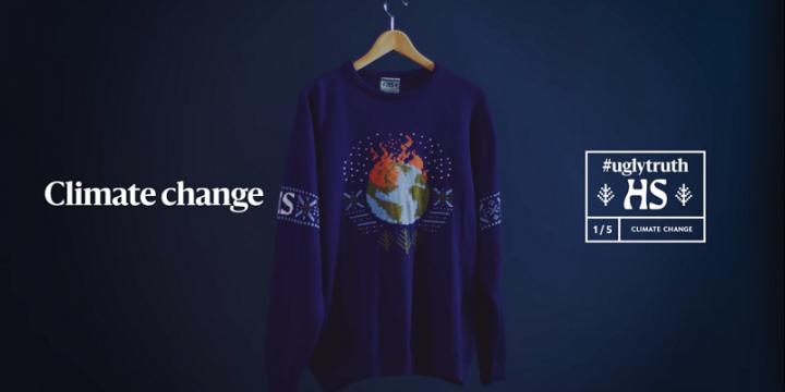 Финская газета выпустила уродливые рождественские свитера с неприятными инфоповодами года