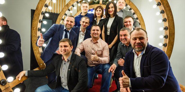 Новогодний корпоратив для компании AB InBev EFES