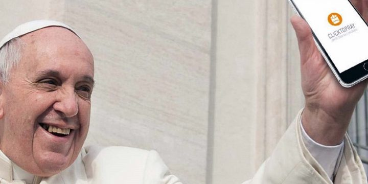 Папа Римский запустил приложение, в котором можно молиться