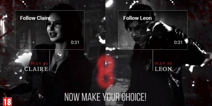 Интерактивная реклама компьютерной игры Resident Evil 2 позволила определять действия персонажа