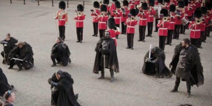 Братья Ночного дозора вышли на защиту лондонского Тауэра