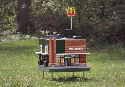 McDonald's открыл «самый маленький» ресторан для пчел