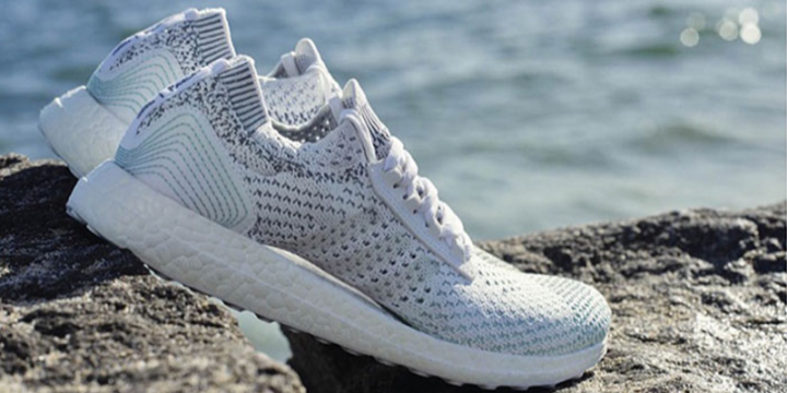 Adidas создаст 11 млн сникерcов из переработанного океанского мусора