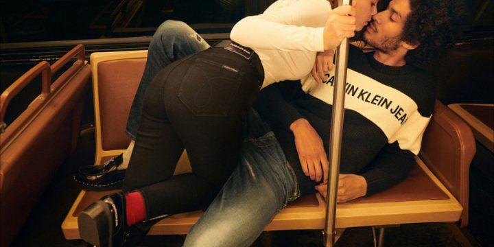 Calvin Klein Jeans пригласил реальные пары для съемок в рекламе