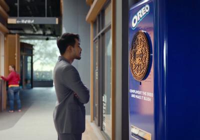 Автомат Oreo выдал печенье в ответ на комплименты