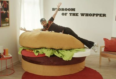 Burger King ищет человека по имени Воппер, чтобы предложить ему жилье